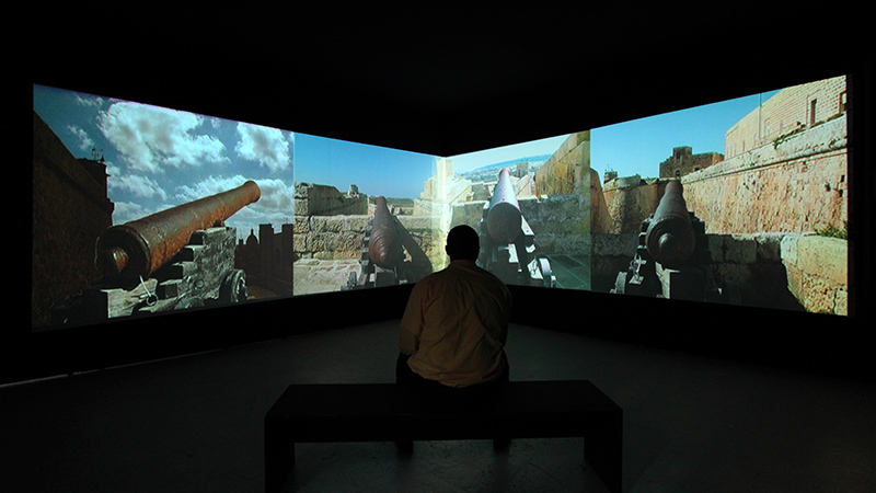 Malta As Metaphor - video installation at Shedhalle Zurich 2011
